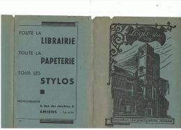 LIBRAIRIE  PAPETERIE  STYLOS      DESCOMBES   à   AMIENS - Stationeries (flat Articles)