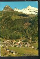 H1619 Valle D' Ayas - Champoluc ( Aosta ) Panorama - Sfondo Testa Grigia - Viaggiata 1970 - Altre Città
