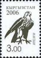 Kyrgyzstan 2006 Definitive Issue Falcon 3.00 1v MNH - Unclassified