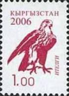 Kyrgyzstan 2006 Definitive Issue Falcon 1.00 1v MNH - Kyrgyzstan