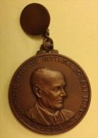 ITALIA Medaglia / Ciondolo - MEDICI / DOTTORI / MEDICINA / IPPOCRATE - Premio Nobel G. DOMAGK - Verona 1950 - Italie