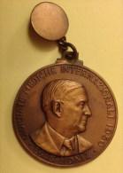 ITALIA Medaglia / Ciondolo - MEDICI / DOTTORI / MEDICINA / IPPOCRATE - Premio Nobel Egas MONIZ - Verona 1950 - Italie