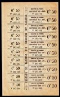 Fiscaux ??? Feuille De 10  Vignettes Contrôle Des Jeux Casino Sans Gomme - Fiscaux