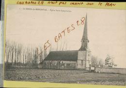 CPA 28,  St-Denis-de-Moroval, Eglise Saint-symphorien ,  JUIN 2013 015 - Other Municipalities