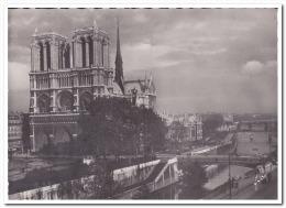 Paris Vue Generale De Notre-Dame - Notre-Dame De Paris
