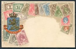 Niederlande Maintien Briefmarken Wappen Netherlands Embossed Stamps - Unused - Stamps (pictures)