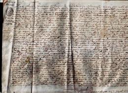 Superbe Parchemin  Bretagne 1674 - Documents Historiques