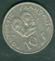 1979 - Polynésie Française - 10 Francs , Pia5304 - Französisch-Polynesien