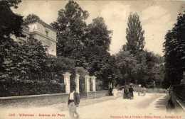 78-VILLENNES-Avenue Du Parc-animée - Villennes-sur-Seine