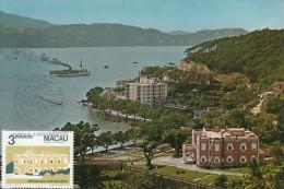 Carte-Maximum MACAO  / Palais Santa Sancha - Macao