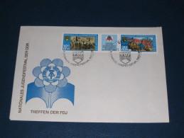 FDC DDR Ersttagsbrief Deutschland 1979 Treffen Der FDJ Nationales Jugendfestival Der DDR - FDC: Briefe