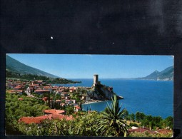 H1646 Card Mignon - Lago Di Garda - Malcesine ( Verona, VR ) Panorama, View, Vue, Ansicht - Italia