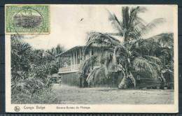 1913 Congo Belge Banana Bureau Pilotage Postcard - Gent Belgium