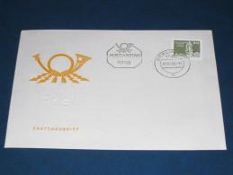 FDC DDR Ersttagsbrief Deutschland 1980 Aufbau In Der DDR Kleinformat - FDC: Briefe