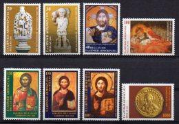 Greece 2000 _ Mi 2052/59 - The Church Of Greece , Jesus Christ - Set New MNH ** - Grèce