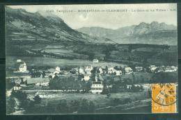 1649 - Dauphiné -MONESTIER DE CLERMONT -la Gare Et Les Villas    - Bcu63 - France
