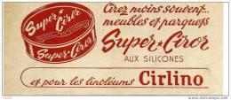* BUVARD PUBLICITAIRE-SUPER CIROR(20,5x9cm)