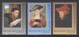 Belgique N° 2655 - 2656 - 2657 *** Oeuvres D'art Belges - De La Pasture - Rubens - Van Eyck - 1996 - Unused Stamps