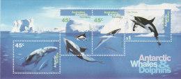 Australian Antarctic Territory 1995 Whales And Dolphins MS - Australian Antarctic Territory (AAT)