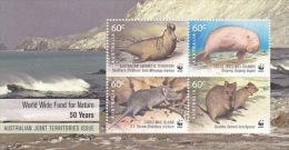 Australian Antarctic Territory 2011 50th Anniversary WWF MS MNH - Unclassified