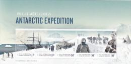 Australian Antarctic Territory 2012 Antarctic Expedition Souvenir Sheet MNH - Australian Antarctic Territory (AAT)