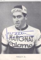 Cyclisme :Jo VELLY (Carte Publicitairel) - Radsport