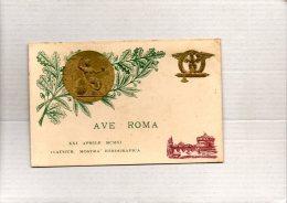 ROMA - INAUGURAZIONE MOSTRA ETNOGRAFICA  XXI APRILE 1911      A RILIEVO - Exhibitions