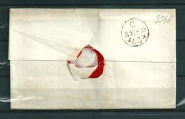 Brief Naar Stonehouse-Plymouth 09/09/1834 (GA9548) - Grande-Bretagne