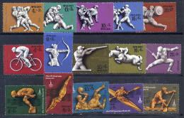 SOVIET UNION 1977-78 Olympic Sports Sets And Block MNH / **. - 1923-1991 USSR