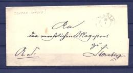 Brief Van Warin Naar Sternberg 27/01/???? (GA9656) - Deutschland