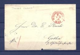 Brief Van Braunschweig Naar Gotha 04/12/1868 (GA9670) - Deutschland