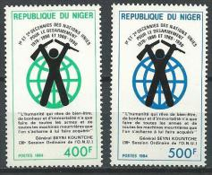 "Niger YT 655 Et 656 "" Nations Unies "" 1984 Neuf** - Níger (1960-...)"