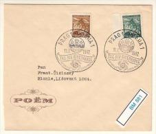 (BM881)  Schmuckumschlag Tag Der Briefmarke 1942 - Besetzungen 1938-45