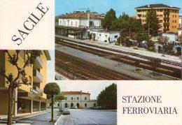 SACILE ,  Stazione  Ferroviaria - Altre Città