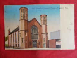 Bridgeport,CT--First Methodist Episcopal Church--cancel 1909--PJ 121 - Bridgeport