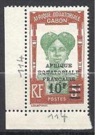 GABON  N� 114 NEUF* TTB