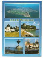 85 - L'ILE DE NOIRMOUTIER - Les Sites Touristiques - Ed. Jack N°4856 - Multivues - Ile De Noirmoutier