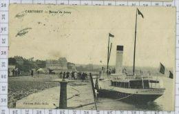 Le Bateau De Jersey A Carteret - Carteret