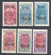 TCHAD  N� 47/52  NEUF* TTB