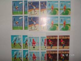 Yemen,YAr Olympic Games Moscow 1982-6 Stamps In Nice Bloc Of 4-Topical Issue-SKRILL    Payment   ONLY- MNH - Summer 1980: Moscow