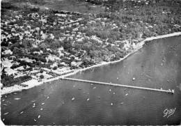 Cpsm 1960,  ANDERNOS LES BAINS Vue Aérienne, Tampon EDF GDF CCOS,  (20.81) - Andernos-les-Bains
