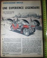 PUB PUBLICITE AUTO ILLUSTREE PAR MITTEI MERCEDES BENZ SIMPLEX - Vieux Papiers