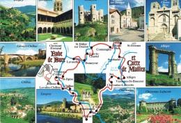 """HAUTE-LOIRE - """"Robe De Bure Et Cotte De Mailles"""" Circuit De 163 Km - Multi-vues : St-Ilpize, Lavaudieu, Domeyrat.-  Neuv - Francia"""