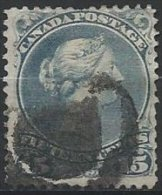 CANADA - 5 C. Victoria De 1868-90 Oblitéré - Usati