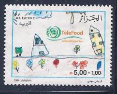 Algeria, Scott # B113 Used Children's Drawing, 2004 - Algeria (1962-...)