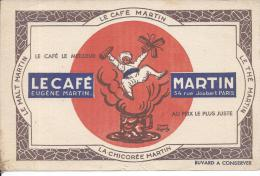BUVARD - LE CAFE EUGENE MARTIN - Café & Thé
