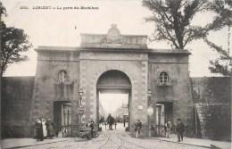 LOT DE 4 CPA DE LORIENT : PLACE ALSCACE-LORRAINEPORT DU MORBIHANVUE GENERALE RUE DU MORBIHAN TRAMWAY 56 - Lorient