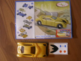 KINDER SURPRISE 2005 FUTURE CARS - N° 2S-376 + BPZ - Kinder & Diddl