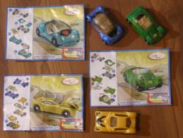 KINDER SURPRISE 2005 FUTURE CARS - N° 2S-365 / 2S-363 / 2S-376 + BPZ - Otros
