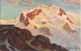 7440 - Mont-Rose Vu Du Gornergrat Au-dessus De Zermatt François Gos - VS Valais